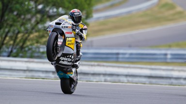 Lüthi leads second free practice at Czech GP