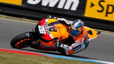 Pedrosa comienza el GP en la mejor forma
