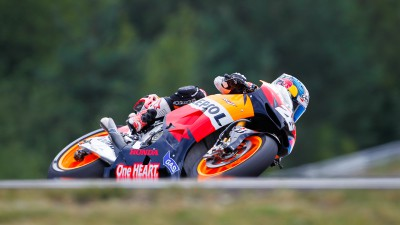 Pedrosa on blistering pace in Brno final practice