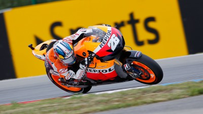 Front row start for Pedrosa in Czech Republic