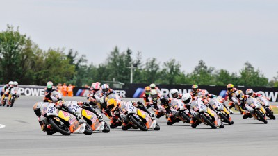 Red Bull MotoGP Rookies: Hanika steals victory from Loi in Brno Race 1