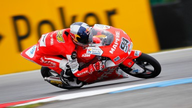 Folger charges to dominant Brno victory