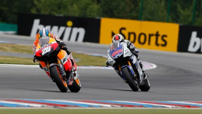 Pedrosa blows championship open with win in Brno thriller