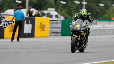 Crutchlow claims first MotoGP podium in Brno