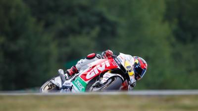 Bradl records positive fifth in Brno