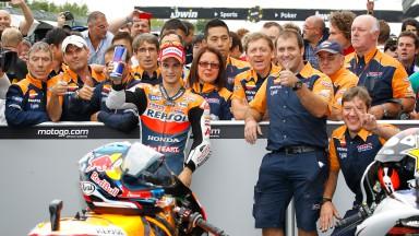 D.ペドロサ:「MotoGPクラスでのベストレースだった」
