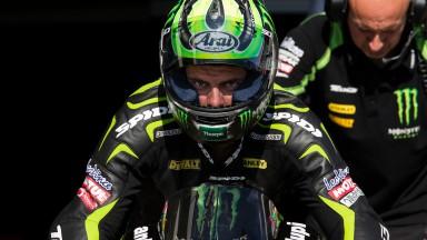 Crutchlow et Dovizioso finissent premier et deuxième du Test Officiel à Brno