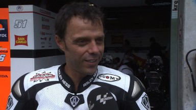 Capirossi thrilled with day of testing in Brno