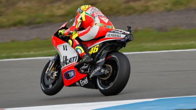 Rossi conclui teste em Misano, recuperação de Hayden corre como planeado