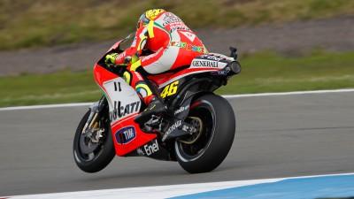 Rossi test conclusi, Hayden in recupero