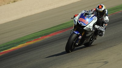 Lorenzo heads Aragón day two as Pedrosa finishes test on top
