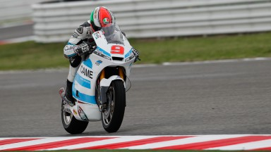 Petrucci quickest as damp track thwarts Misano first practice