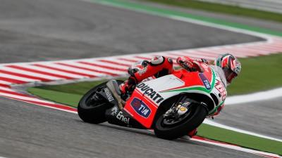 Weather halts Ducati riders at Misano