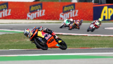 Cortese takes pole position at sunny Misano