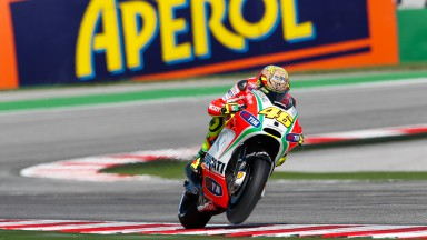Good qualifying for Rossi at Misano, Hayden slowed by injured hand
