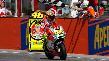 Home podium for ecstatic Rossi in Misano