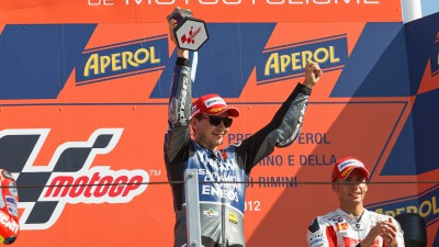 Lorenzo extends championship lead with Misano win