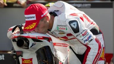 Bautista alcanza en Italia su primer podio en MotoGP