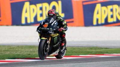 Dovizioso manque son premier podium à Misano