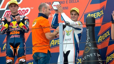 Fenati proves his mettle with Misano podium