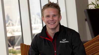Danny Webb fährt 2013 für das World Wide Communication-Team