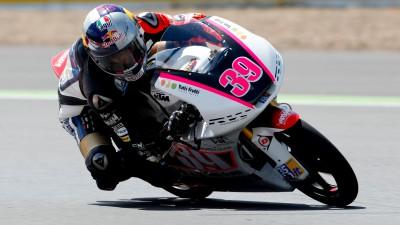 Salom recorta distancias con su podio en San Marino