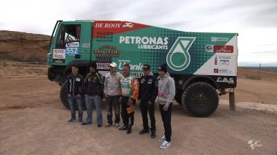 Estrelas do MotoGP™ vivem experiência do Dakar em Aragão