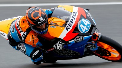 Oliveira leads the way in red-flagged Aragón practice run