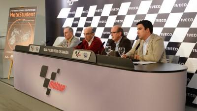 La competición universitaria MotoStudent 2012 se ha presentado en Aragón