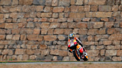 Pedrosa second as tricky conditions continue to plague MotoGP™