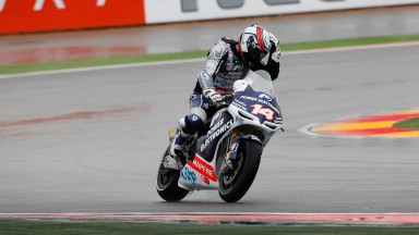 Power Electronics Aspar riders start steadily at Motorland