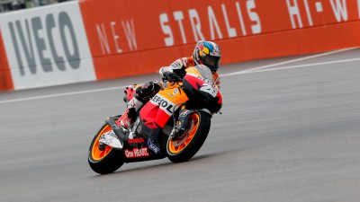 Pedrosa regrette sa chute en qualifications