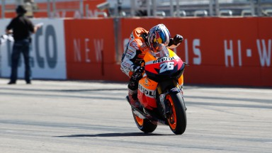 Pedrosa makes up for Misano disappointment in Aragón