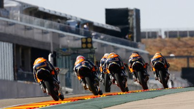 Red Bull MotoGP Rookies - Hanika wins season finale from Alt and Trautmann