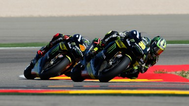 Crutchlow narrowly misses out on Aragón podium