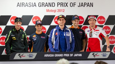 MotoGP™ stars gather for Motegi pre-race press conference