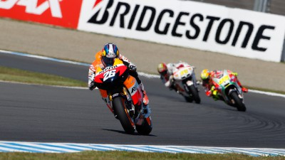 Pedrosa heads second free practice in Japan