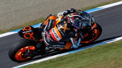 Márquez fastest in second free practice in Motegi