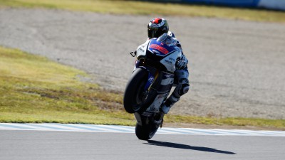 Second for Lorenzo on day one in Japan