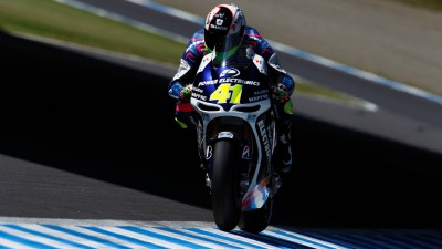 Aspar pair both crash in same corner but set the CRT pace in Japan