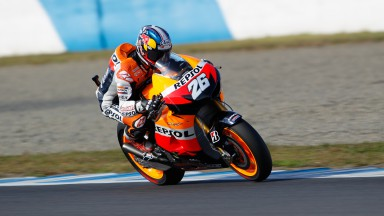 Final free practice in Japan sees Pedrosa on top