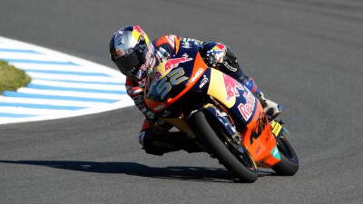 Kent führt im Morgen-Warm-up in Motegi