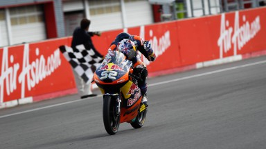 Moto3, Kent all'ultimo sospiro