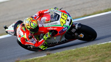 Rossi seventh, Hayden eighth in Japanese GP