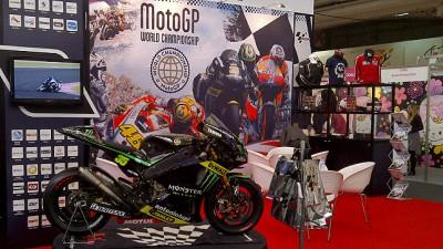 MotoGP™ on display at Brand Licensing Europe in London
