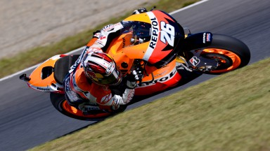 Pedrosa will in Sepang den Sieg