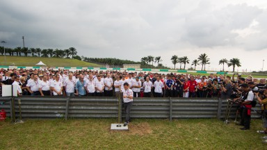 MotoGP™ pays tribute to Marco Simoncelli in Sepang
