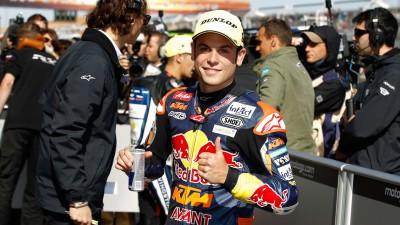 Cortese kann in Malaysia erster Moto3™-Weltmeister werden
