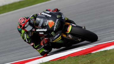 Rain disrupts Tech 3's preparations in Sepang