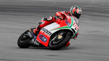 Rain affects Ducati on day one at Malaysian GP